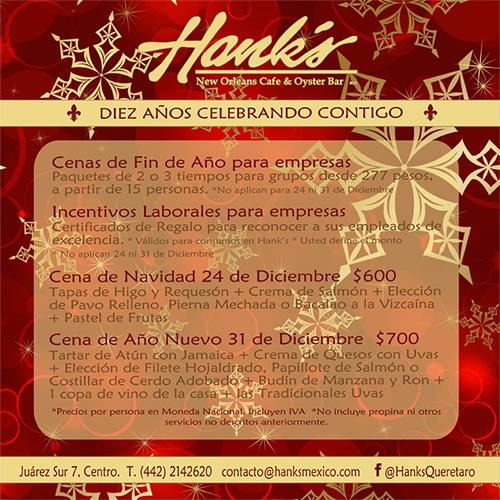 Hanks Fiestas Decembrinas
