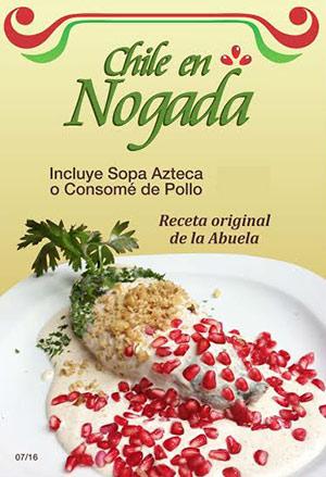Kpuchinos - Chiles en Nogada - prono