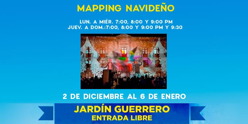 Mapping navide o guia de turismo entretenimiento y for Jardin guerrero queretaro