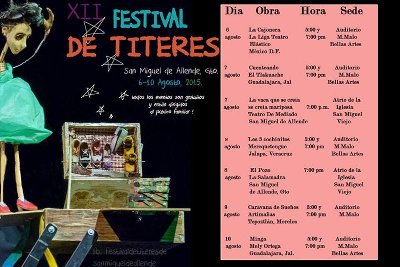 Festival de Titeres Programa 2015